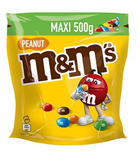 Vorratspack 500g M&M´s M&M Peanut limitiert nur für kurze Zeit Mischung Sparpack
