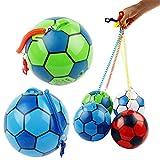 Cansenty Aufblasbarer Fußball mit Schnur, für Kinder