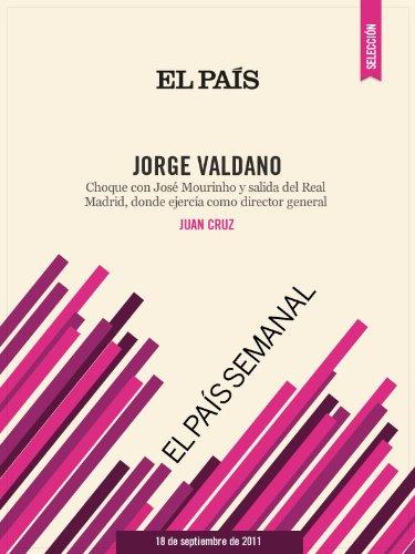 Portada del libro Jorge Valdano de Juan Cruz