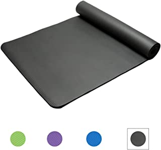 Yoga Mat Non Slip Yoga Mats Eco Friendly Exercise Workout Mat 15mm Extra Thick Fitness Mat For Yoga,Pilates And Floor Exer...