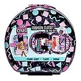 L.O.L. Surprise! O.M.G. Fashion Closet On-The-Go Rolling Storage fits 4 Fashion Dolls Plus Accessories