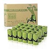 PET N PET Dog Poop Bag 360 Counts Poop Bags 24 Refill Rolls - Containing EPI Additives Meets ASTM D6954 Dog Waste Bags - Unscented Leak Proof Poop Bags For Dogs
