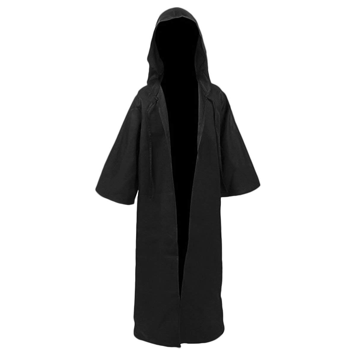 H/&ZY Unisex Tunic Halloween Robe Hooded Cloak Costume