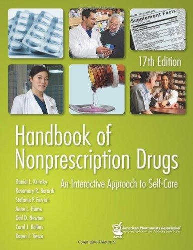 Handbook of Nonprescription Drugs: An Interactive...