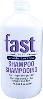 NISIM F.A.S.T Fortified Amino Scalp Therapy Shampoo - That Promotes Fast and Healthy Hair Growth (33 Ounce / 1000 Milliliters)