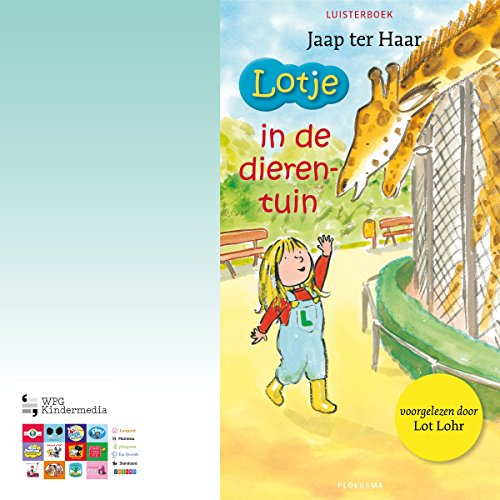 Lotje in de dierentuin audiobook cover art
