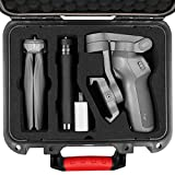 Professional Look Military Grade Waterproof Case made of PP Plastic Alloy. Quality comparable to Pelican or SKB High Quality EVA Foam insert precisely cut for DJI OSMO Mobile 3 and accessories The case fits the DJI Osmo Mobile 3, Grip Handle Tripod (...