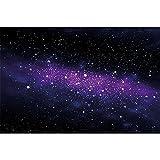 GREAT ART Mural De Pared Cuarto De Los Niños ? Estrella ? Estrella ? Órbita De La Vía Láctea Espacio Galaxia Universo Cosmos Foto Papel Tapiz Y Decoración 210 x 140 cm