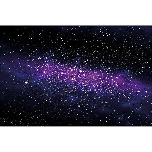 GREAT ART Fototapete Kinderzimmer – Sterne – Wandbild Dekoration Weltraum Stars Galaxy Sky Sternenhimmel Universum Space All Kosmos Weltall Foto-Tapete Wandtapete Fotoposter (210 x 140 cm)