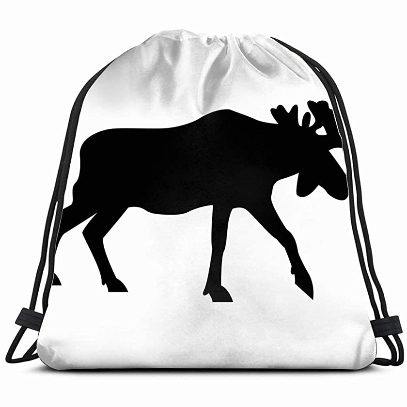 Image Elk Animals Wildlife Animal Portable Travel Shoe Bags Shoe Organizer Space Saving Storage Bags 14.2 x 16.9 Inch