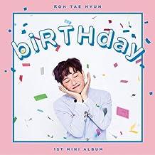 JBJ HOTSHOT ROH TAEHYUN [BIRTHDAY] SOLO Album CD+80p Photo Book+1ea Sticker+2p Photo Card