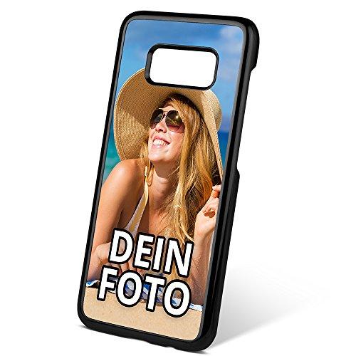 PhotoFancy ® – Samsung Galaxy S8 Hülle mit eigenem Foto Bedrucken – Smartphone Case als personalisierte Schutzhülle (Hardcase schwarz)