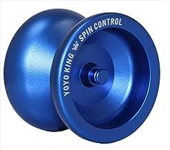 Yoyo King Spin Control Metal Professional YoYo (Blue)