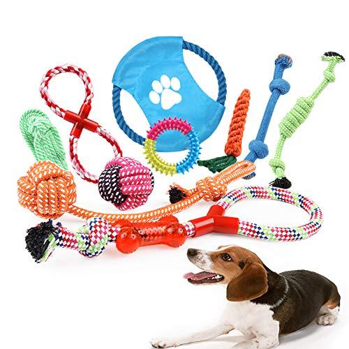 Photo de corde-jouets-pour-chiens-10-pieces-de-jouets
