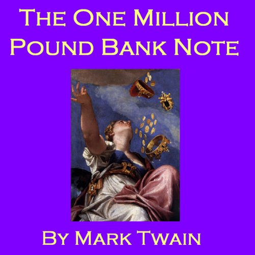 The One Million Pound Bank Note audiobook cover art