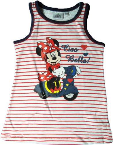 Disney Minnie Maus Sommerkleid - Ciao Bella! - Rot/Weiß