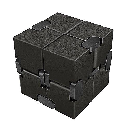 [LilBit] Infinity Cube インフィニティキューブ 無限キューブ アルミニウム合金 (黒)