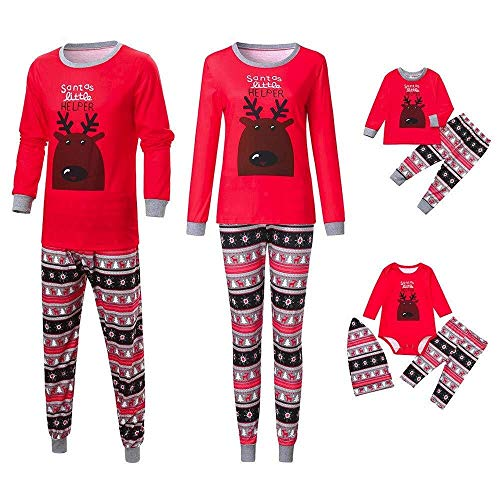 Kerstmis set kinderen baby kleding pullover familie pyjama's nachtkleding bijpassende outfits modieuze complete set pyjama Pjs Homewear voor ouders jongens meisjes baby kleding