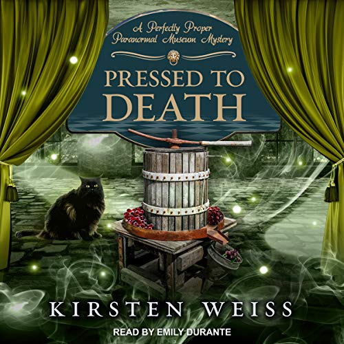 Pressed to Death audiobook cover art