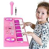 Shayson Teclado de Piano para Niños 37 Teclas Multifunción Teclado Electrónico Piano co...