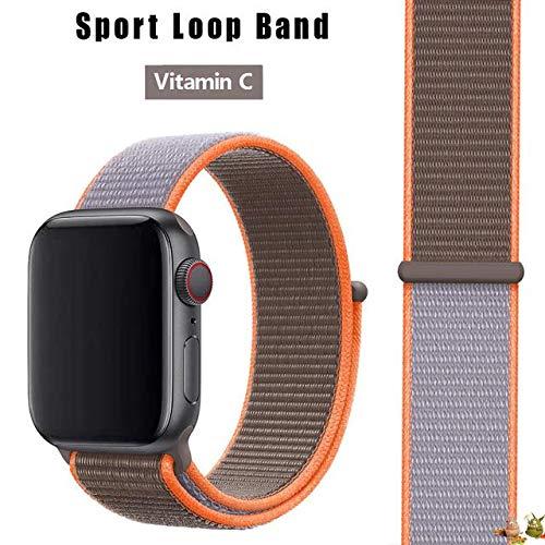 Stoffe-Monster X_Loop Watch pulsera Sport C Vitamina 42 mm / 44 mm