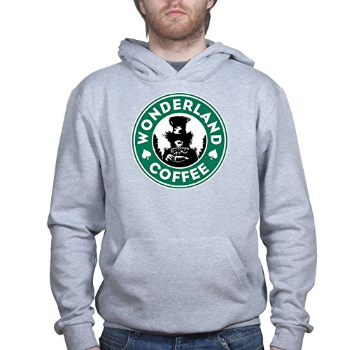 Customised Perfection WonderlandCoffeeHoodieGRY M Sports Grey