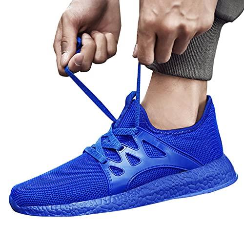 surfsexy Zapatillas de correr para hombre de carretera, tenis para caminar, entrenadores de fitness, gimnasio, zapatos ligeros para correr