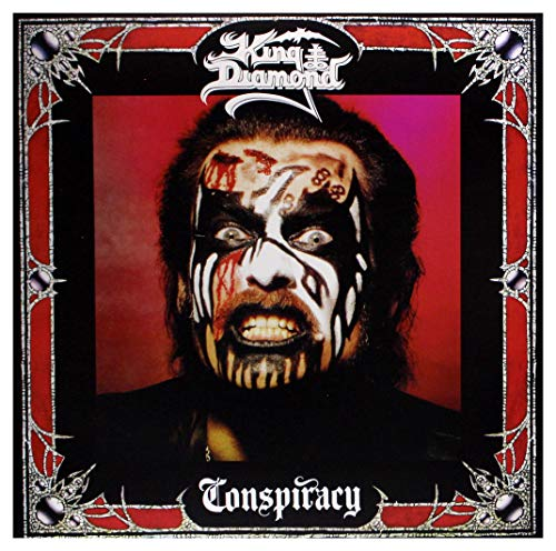 King Diamond: Conspiracy (White Red Marbled) [Winyl]