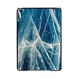 For for Apple for ipad 2019第7世代10.2インチA2200 A2123タブレットPCプラスチック大理石パターンスリムスタンドケースカバー-azul marble-