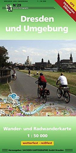 Dresden und Umgebung: Wander- und Radwanderkarte 1 : 50 000 GPS-fähig wetter- und reißfest