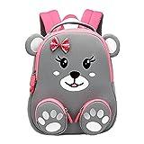 Cool&D Baby Rucksack Kindergarten Rucksack Cartoon Muster Schultasche Anti-verloren Rucksack