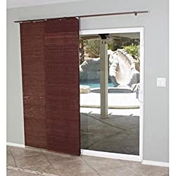 4 common sliding glass door weaknesses and how to secure them another alternative to traditional drapes is a flat panel track shade these shades are equipped with rollers to work perfectly with a sliding glass door planetlyrics Gallery