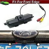 Para Ford Edge 2015 2016 2017 Set de manija de maletero de coche con cámara de visión trasera de aparcamiento
