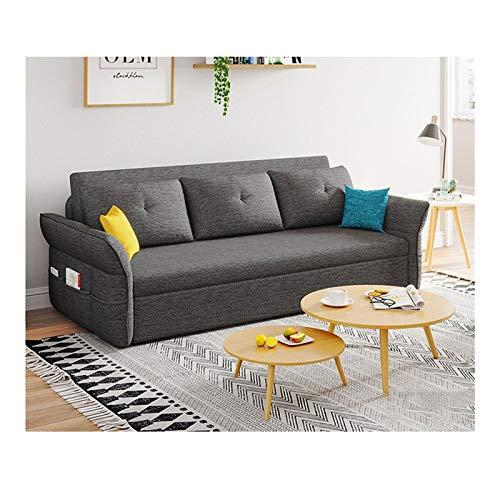 HLZY Divano Letto Sleeper Convertible Lounge Couch futon, Divano Letto Pieghevole a Doppio Uso, Divano Letto futon Convertibile, Divano Letto Divano Letto per Bambini (Size : 82in)