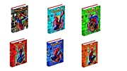 Vai a scuola con Spiderman e rivivi le avventure del fantastico supereroe dei fumetti con questo fantastico diario 10 mesi non datato con 352 pagine a quadretti personalizzate con contenuti inediti, copertina imbottita e plastificazione lucida. Dimen...