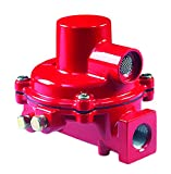Emerson-Fisher LP-Gas Equipment R122H-AAJ First Stage Compact Regulator, Non-Adjustable 10 psig Spring, 1/4' x 1/2' NPT