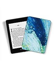 Kindle Paperwhite [10. generacji-2018, numer modelu: PQ94WIF] - trwała inteligentna skórzana osłona pasuje do Amazon najnowszego Kindle Paperwhite 4