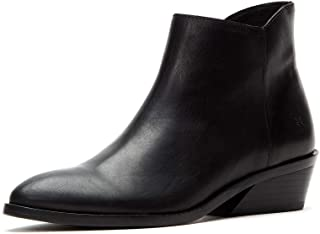 Frye Women's Farrah Inside Zip Ankle Boot, Black, 9 Medium US