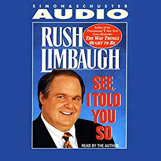See, I Told You So audiobook cover art
