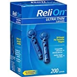 ReliOn 30G Ultra Thin Lancets 200-ct by Reli On