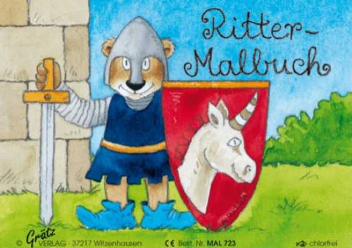 Mini-Ritter-Malbuch