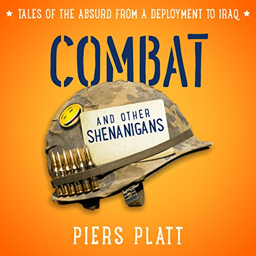 Combat and Other Shenanigans audiobook cover art