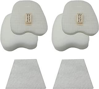 HIHEPA 2-Pack Felt & Foam Filter for Shark Rocket HV319 HV320 HV321 HV322 HV324 HV345 UV330 UV422 ZS350 ZS351 ZS352 Compare to Part # XPMFK320# 1084FTV320