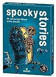 Black Stories Junior – Spooky Stories: 50 misterios llenos de espeluznantes.