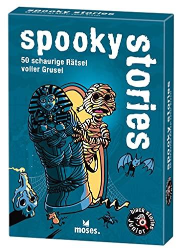 black stories junior - spooky stories: 50 schaurige Rätsel voller Grusel