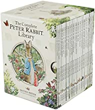 The Complete Peter Rabbit Library 23 books Boxed Set Collection (Squirrel Nutkin, Tailor of Gloucester, Benjamin Bunny, Miss Moppet, Pig Robinson, Ginger and Pickles, Samuel Whiskers, Mr Tod, John Town Mouse, Timmy Tiptoes) (Peter Rabbit Library)