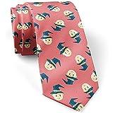 Wizard Flat Skinny Slim Fashion Necktie para hombres,...