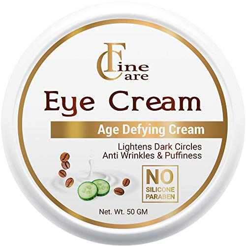 FINECARE Eye Cream for Dark Circles for Women And Men - Anti Aging Under Eye Cream Reduce Fine Line Wrinkles And Puffiness 50 gm