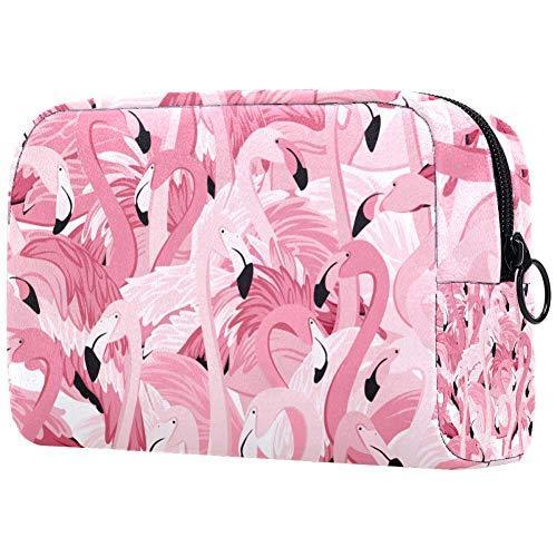 Trousse de toilette portable pour femme, sac à main, cosmétique, voyage organisateur de zoo