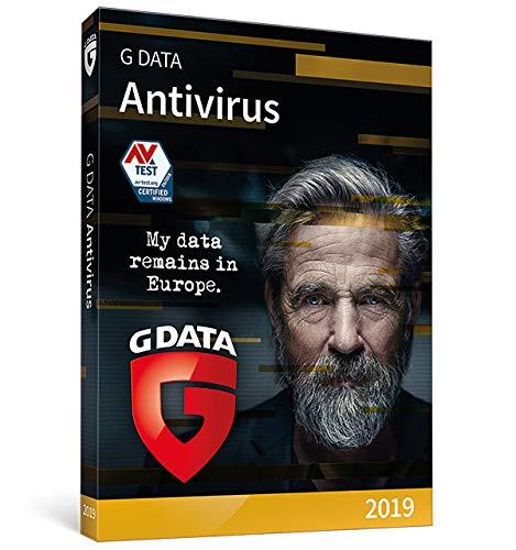 G DATA Antivirus 2019 | 1 appareil | 1 An | PC | Code d'activation PC - envoi par email